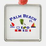 Banderas de señal de FL del Palm Beach Ornamente De Reyes