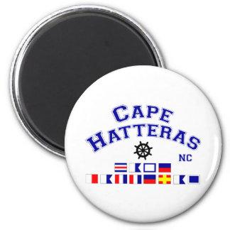 Banderas de señal de Hatteras NC del cabo Imán De Frigorifico