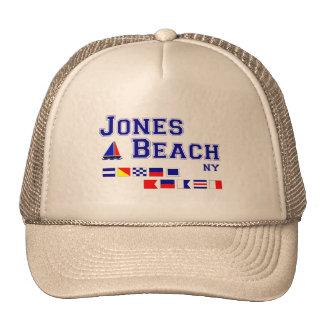 Banderas de señal de la playa NY de Jones Gorra
