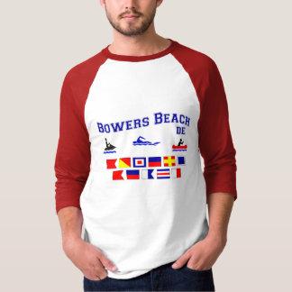Banderas de señal del DE de la playa de las Camisas