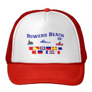Banderas de señal del DE de la playa de las glorie Gorras
