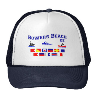 Banderas de señal del DE de la playa de las glorie Gorras De Camionero