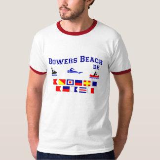 Banderas de señal del DE de la playa de las Poleras