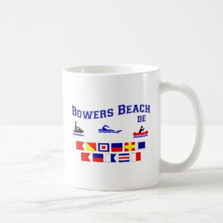 Banderas de señal del DE de la playa de las Taza