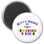Banderas de señal del NC Kitty Hawk Imanes