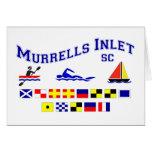 Banderas de señal del SC de la entrada de Murrells Tarjetas