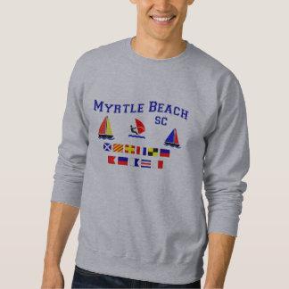 Banderas de señal del SC de Myrtle Beach Sudaderas