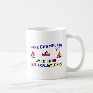 Banderas de señal del VT de Champlain del lago Taza Clásica