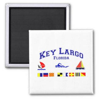 Banderas de señal dominantes de FL del Largo Imán De Nevera