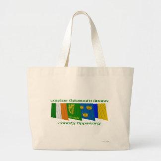 Banderas de Tipperary del condado Bolsa Tela Grande