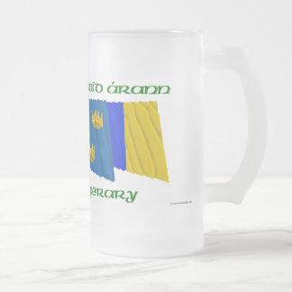 Banderas de Tipperary del condado Tazas De Café