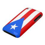 Banderas del caso del iPhone 3G/3GS de Puerto Rico iPhone 3 Carcasa
