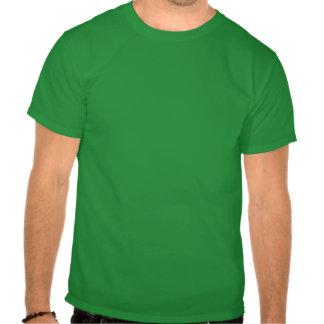 Banderas del corazón de los E.E.U.U. Irlanda Camiseta