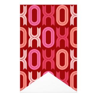 Banderas del empavesado de la decoración del fiest tarjetas informativas