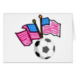 Banderas del fútbol tarjeton