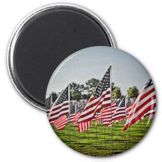 Banderas en el arte Hill-9-11 Imán De Frigorífico