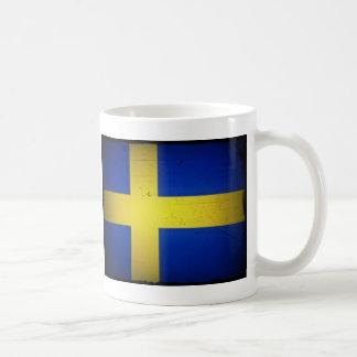 Banderas escandinavas taza clásica