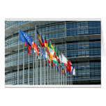 Banderas europeas felicitación