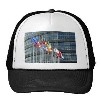 Banderas europeas gorro de camionero