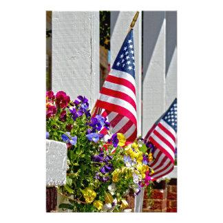 Banderas + Flores Papelería Personalizada