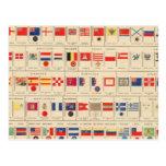 Banderas, insignias postales