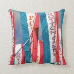 Banderas justas del caramelo de algodón de las pal cojines