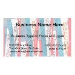 Banderas justas del caramelo de algodón de las pal plantilla de tarjeta de negocio