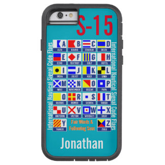 Banderas náuticas funda tough xtreme iPhone 6