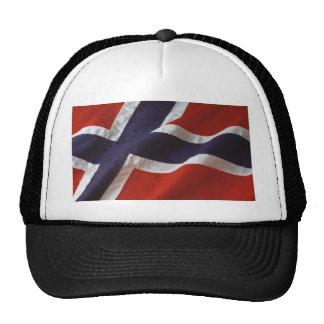 Banderas noruegas gorras de camionero