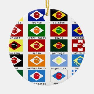 banderas para la copa del mundo en Brasil