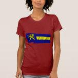 Banderas que agitan de Balzers Camiseta