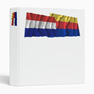 """Banderas que agitan de Países Bajos y de Carpeta 1"""""""