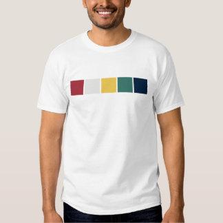 Banderas tibetanas del rezo camisas