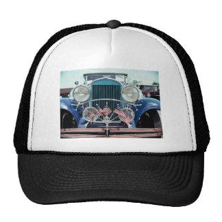 Banderas y fotografía clásica del coche del cromo gorro