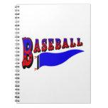 Banderín Baseball.png Libro De Apuntes Con Espiral