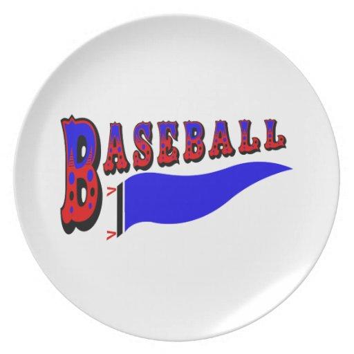 Banderín Baseball.png Plato De Comida