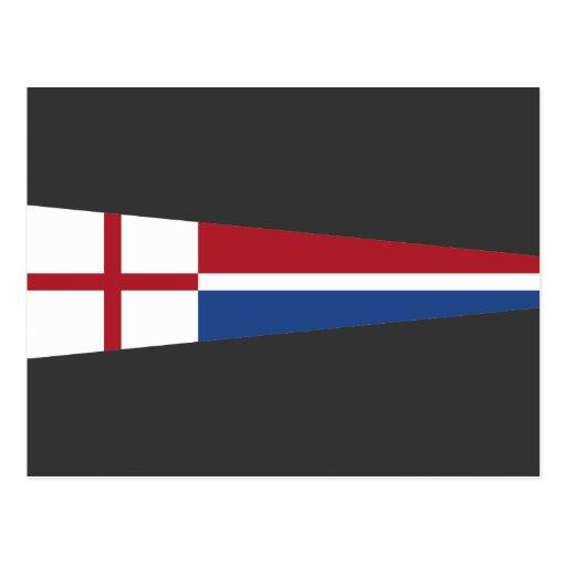 Banderín de la iglesia, Países Bajos Tarjeta Postal