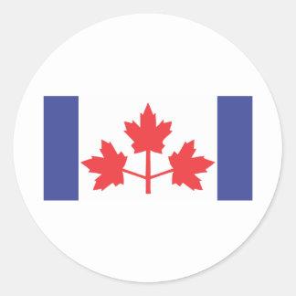 Banderín de Pearson Etiqueta Redonda
