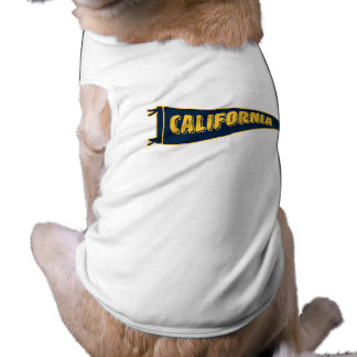Banderín el | caloría Berkeley de California Playera Sin Mangas Para Perro