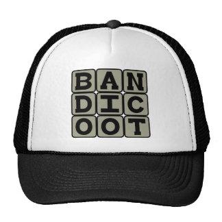 Bandicoot, Marsupial Omnivore Trucker Hat