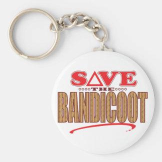 Bandicoot Save Keychain