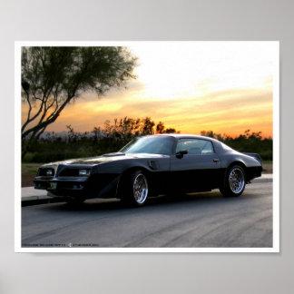 Bandido en la puesta del sol de Arizona Impresiones