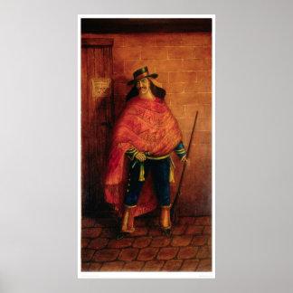 Bandido mexicano Joaquín Murieta (0076A) Póster