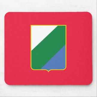 Bandiera de Abruzos Italia Tapete De Ratón