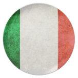 bandiera Italia Party Plates