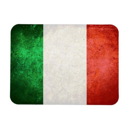 bandiera Italia Rectangular Magnet