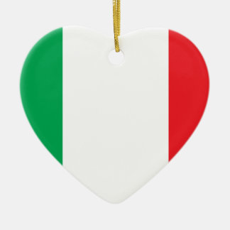 Bandiera Italiana (Italian Flag) Ceramic Ornament