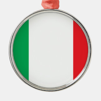 Bandiera Italiana (Italian Flag) Metal Ornament