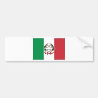 Bandiera Italiana - State Ensign of Italy Bumper Sticker