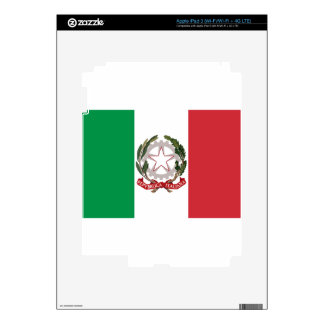 Bandiera Italiana - State Ensign of Italy iPad 3 Decal